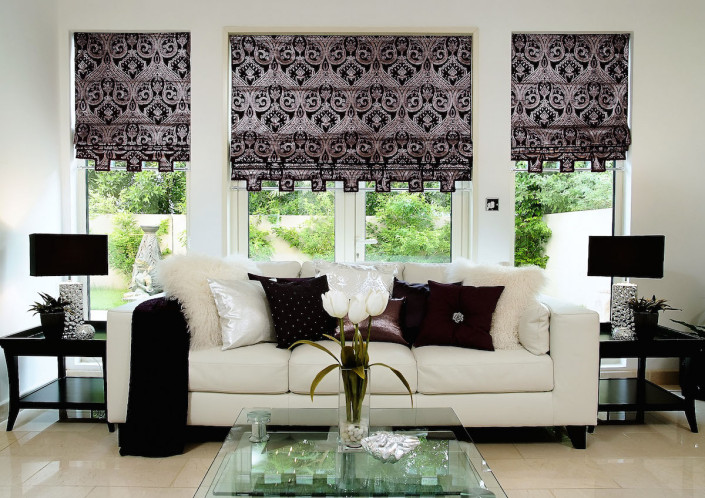 The Rabat Roman Blinds