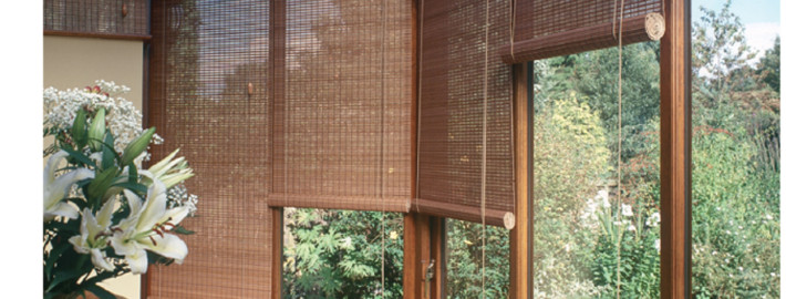 Wood Weave Roller Blinds