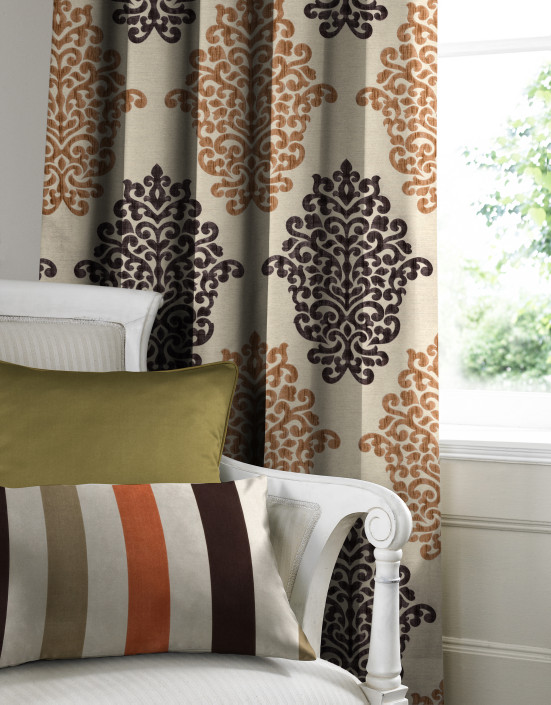 Arkara Terracotta Made to Measure Curtains