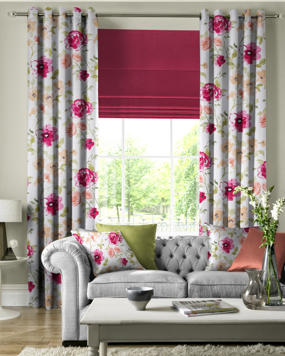 Marden Crimson Made to Measure Curtains