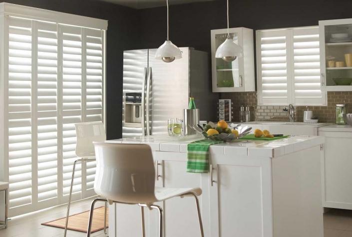 Bay Window Shutters For Kitchen