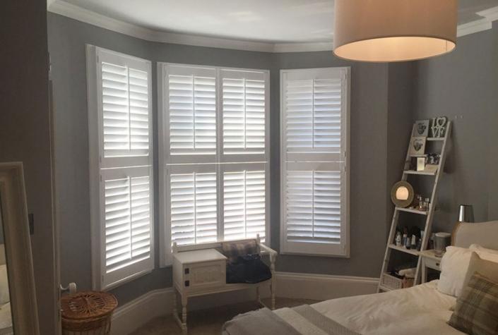 Bedroom Shutters Bay Window